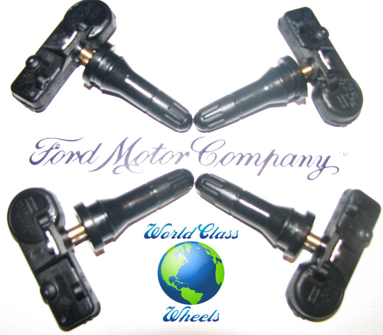 Ford fusion tire pressure sensor fault