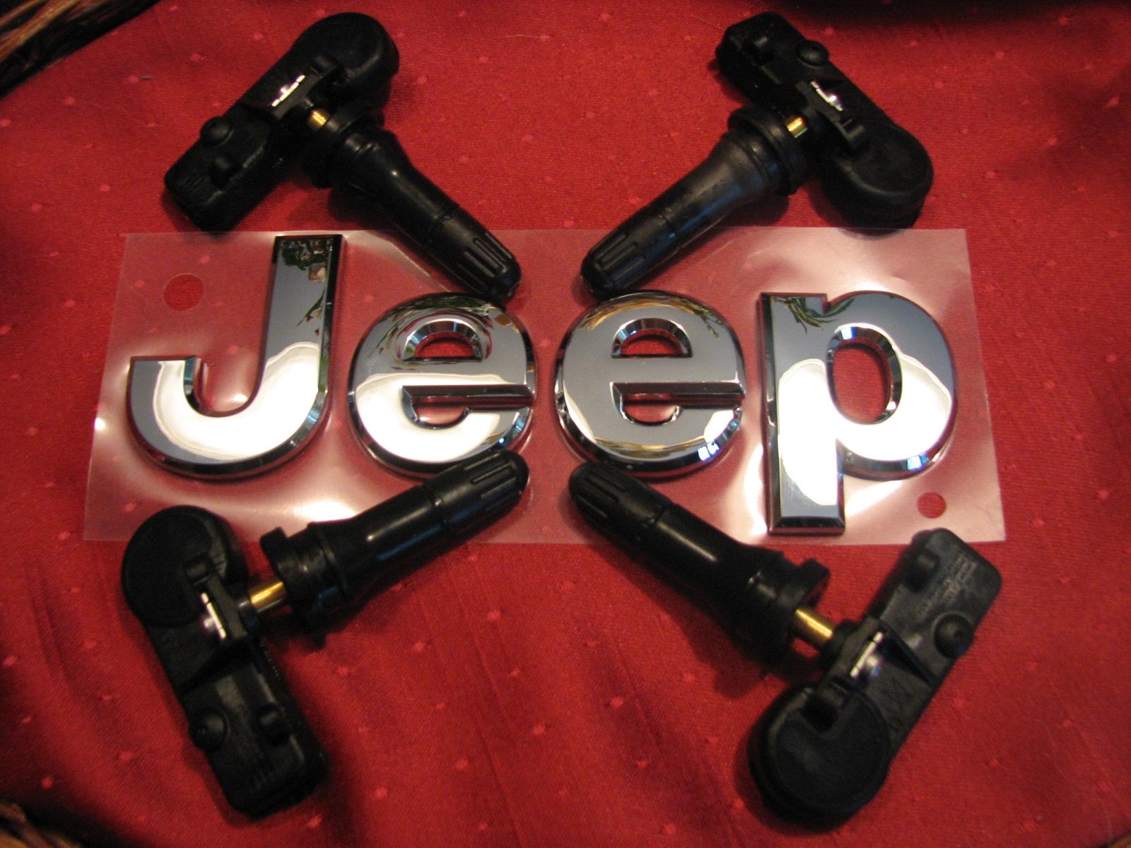 Jeep TPMS Tire Sensors Set of 5 2013 Wrangler 56029398 AB Brand New FedEx